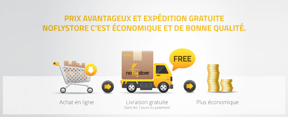 a56e55b281cf63 Livraison gratuite • Moustiquaires • NoFlyStore